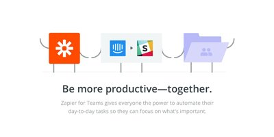 zapier training - be more productive together