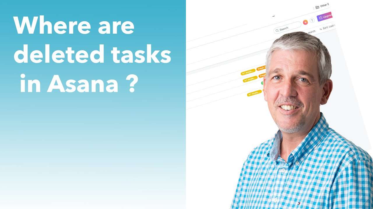 where are deleted tasks in Asana