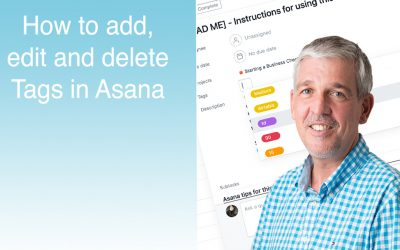 Tutorial – How to Add, Edit, Delete Tags in Asana
